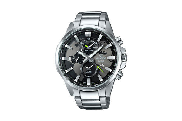 Dünya markası Casio işlevselllik ve şıklığı her yaşa ve zevke hitap eden saat tasarımları ile buluşturuyor. Son olarak iki farklı şehrinde saatlerini aynı zamanda gösterebilen ve üzerinde dünya haritası bulunan Edifice EFR-303 modeli ile saat tutkunlarının beğenisine sunuyor.